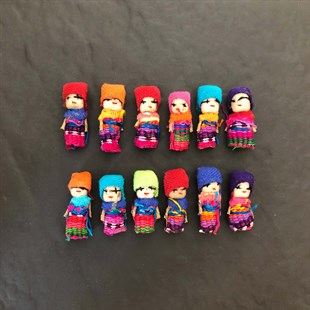 WORRY DOLLS (6lı set)
